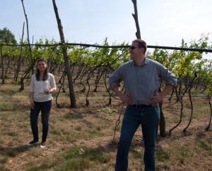 Sofia und Luca Anselmi vom Weingut Falezze