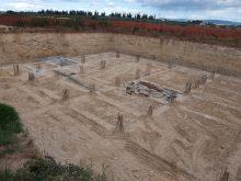 Hier entsteht der neue Keller von COS