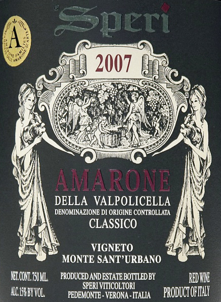 Speri Amarone 2007