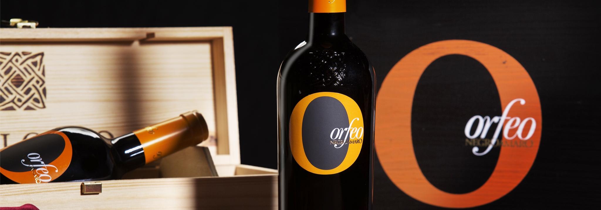 Orfeo Negroamaro von Paolo Leo